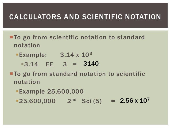 Scientific notation pbit 1