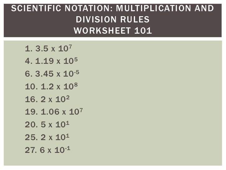 Scientific Notation Pbit