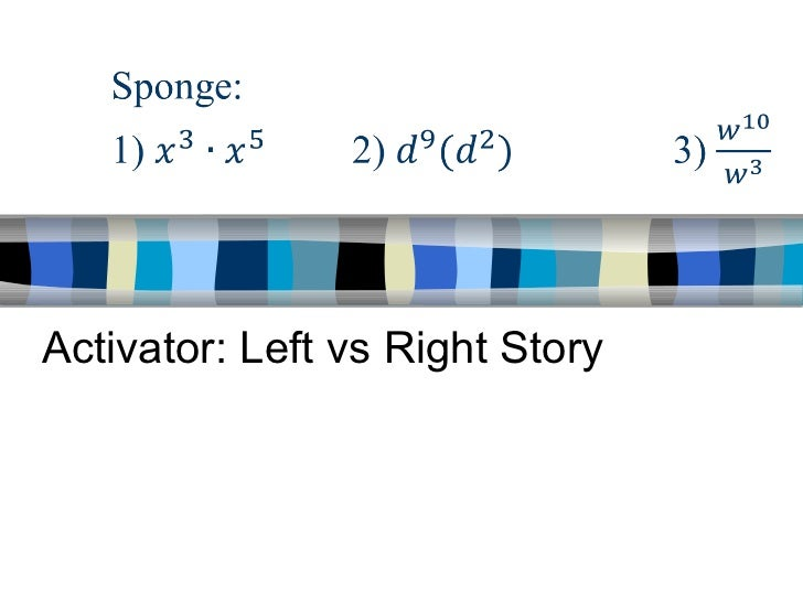 Activator: Left vs Right Story