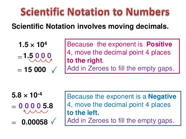 write numbers in scientific notation What is scientific notation the concept of very large or very small numbers is something that is difficult for many students to comprehend in general, students have.