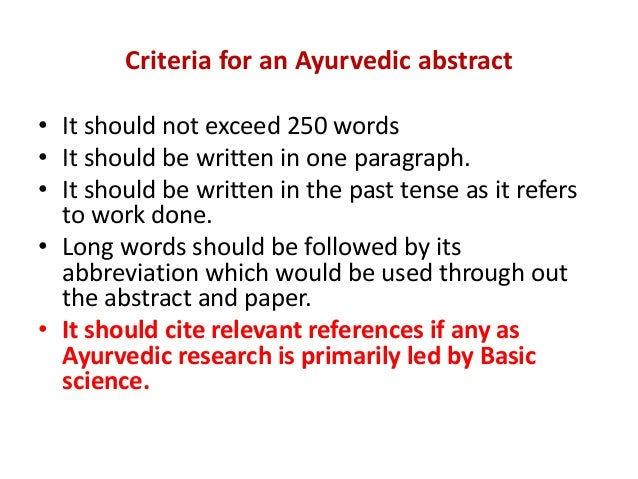 ayurved research papers