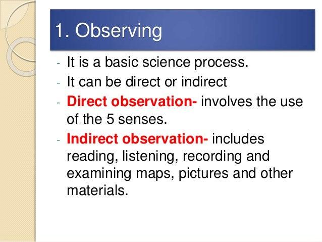 Scientific processes