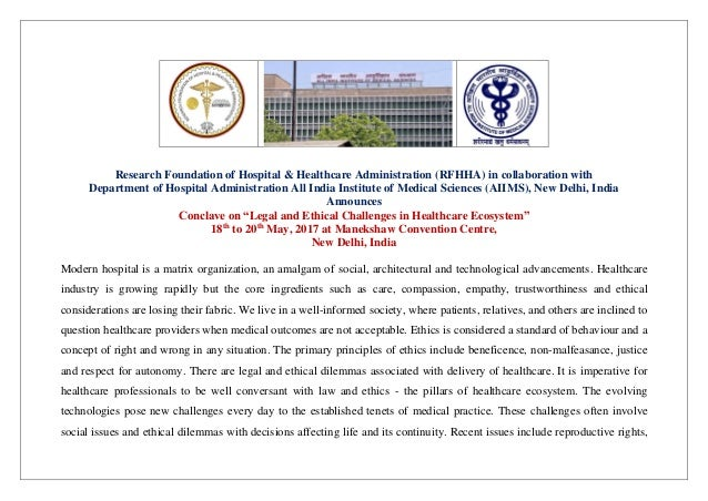Research Foundation of Hospital & Healthcare Administration (RFHHA) in collaboration with Department of Hospital Administr...