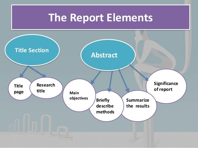 elements of report writing