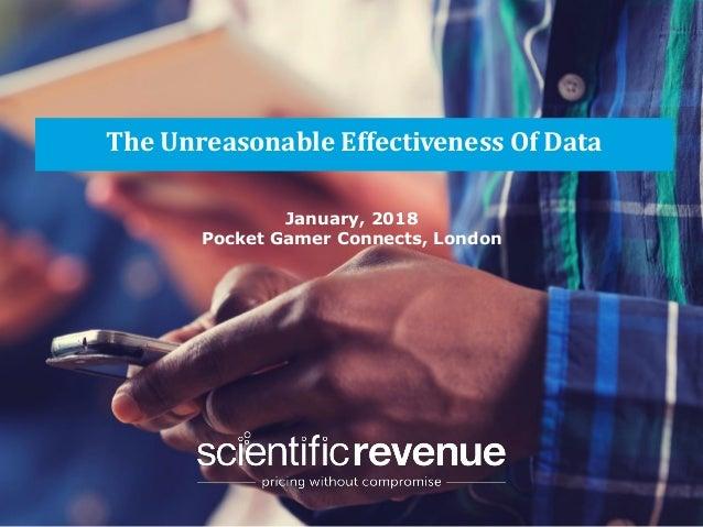 Scientific revenue unreasonable effectiveness of data