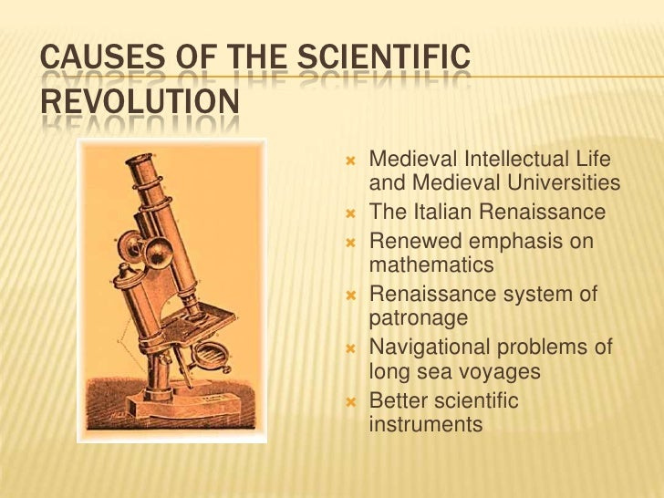 causes of intellectual revolution Impact of the industrial revolution arts during the industrial revolution there were many artistic movements during the period of britain's industrialization, each of which was a reaction.