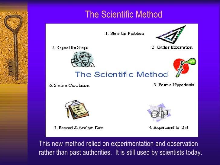Scientific revolution lesson ppt