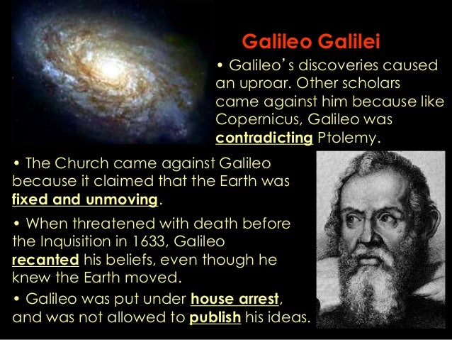 an analysis of the discoveries by galileo galilei A summary of the starry messenger in 's galileo galilei learn exactly what happened in this chapter, scene, or section of galileo galilei and what it means perfect.