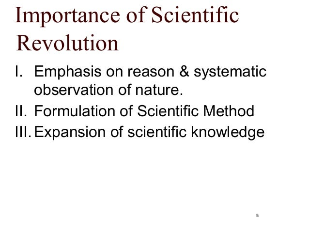 the significance of important figures of the scientific revolution An important indicator of the persuasiveness of the notion of a scientific revolution is its role in one of the most influential works in the modern philosophy of.