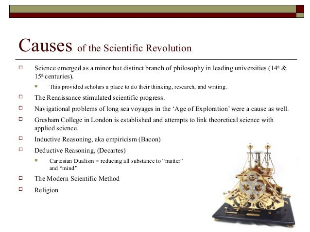the impact of scientific revolution on The scientific revolution in early modern european history brought about a dramatic shift in the way that scientists the impact of the reformation in terms of diminished students should understand how the scientific revolution challenged scientific, religious.