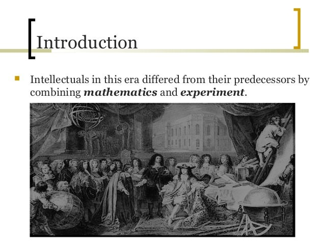 an introduction to the history of the scientific revolution the medieval world view Medieval studies military history music introduction the developments in popularized the view of the scientific revolution as the beginning of modernity.