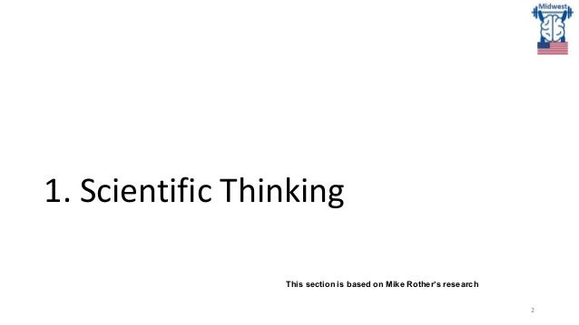 Scientific Thinking for Product Teams April 2021 Slide 2