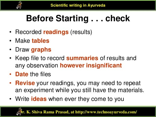 Scientific paper writing services tables