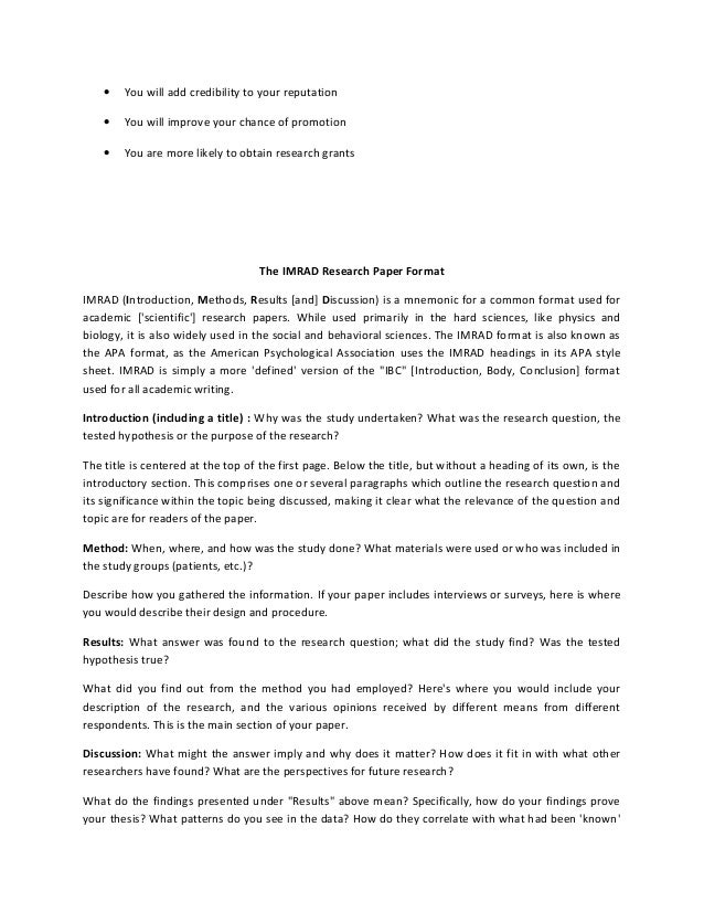 example research essay
