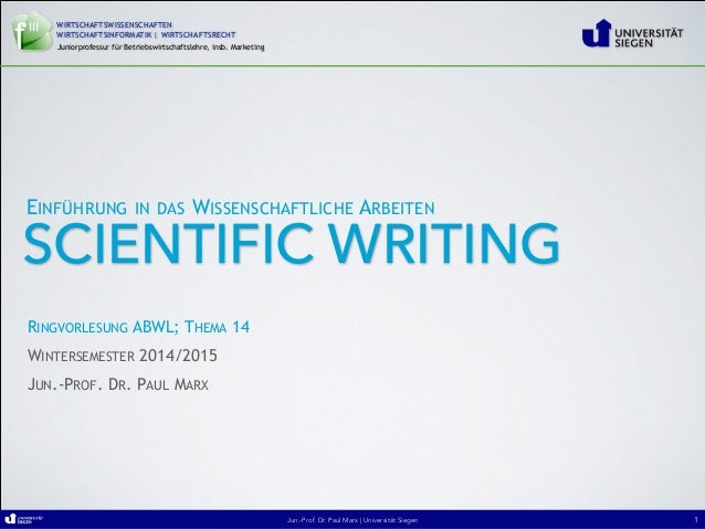 Jun.-Prof. Dr. Paul Marx   Universität SiegenJun.-Prof. Dr. Paul Marx   Universität SiegenJun.-Prof. Dr. Paul Marx   Unive...