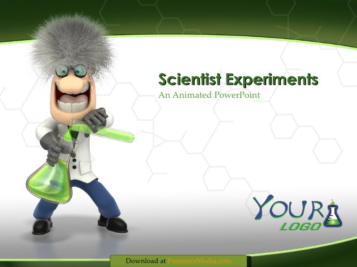 An Animated PowerPoint Scientist Experiments