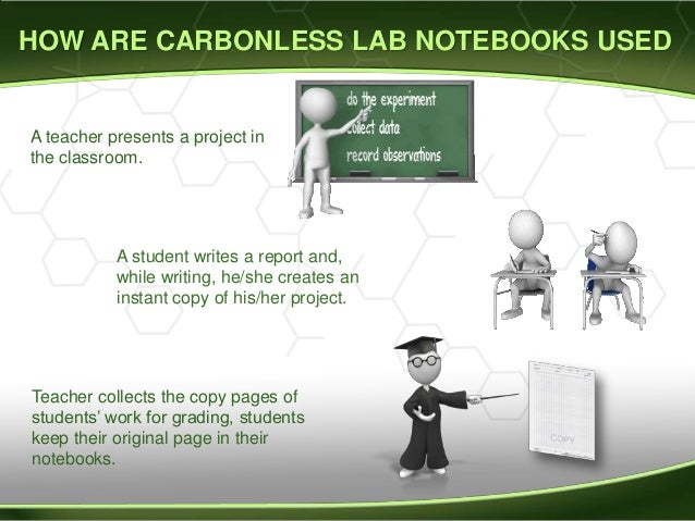 lab notebooks carbon copy
