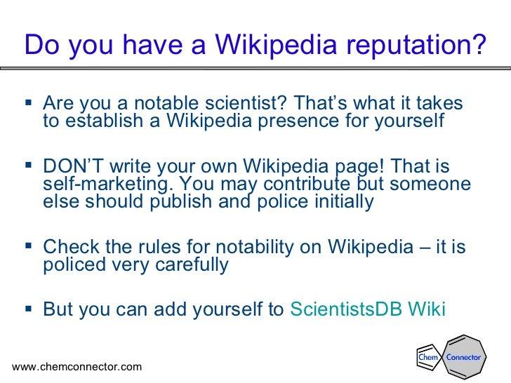 Scientists Database Slide 2
