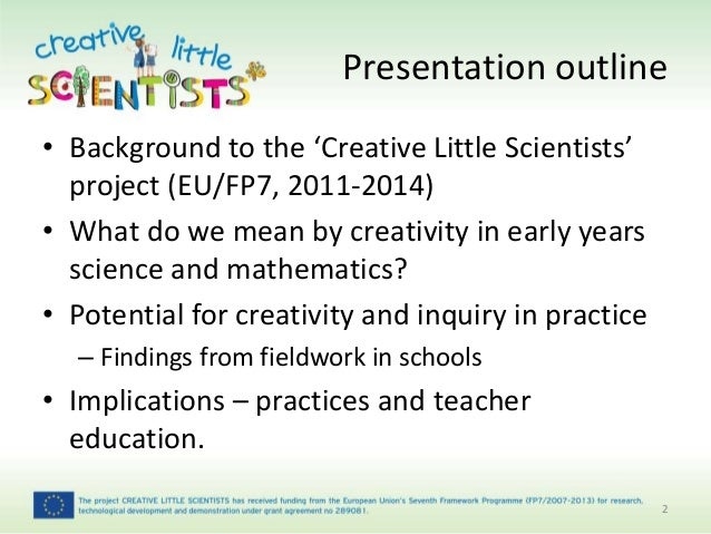creativity in early years dissertation Masters of education in the subject  creativity as a crucial process in the development of the  states that during the early years (2-6years).