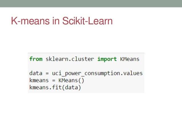 Introduction: scikit-learn - LinkedIn