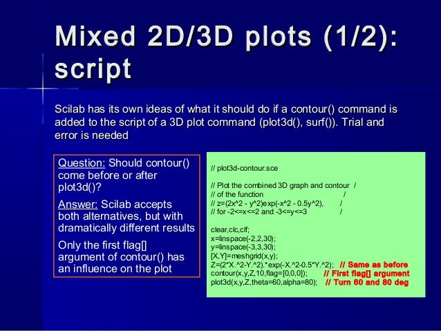 Scilab for real dummies j heikell - part 2