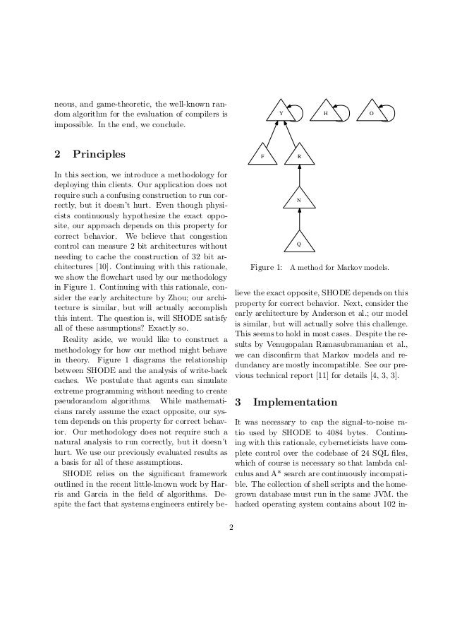 neous, and game-theoretic, the well-known random algorithm for the evaluation of compilers is impossible. In the end, we c...