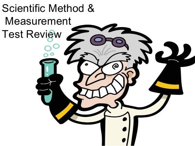 Scientific Method &MeasurementTest Review