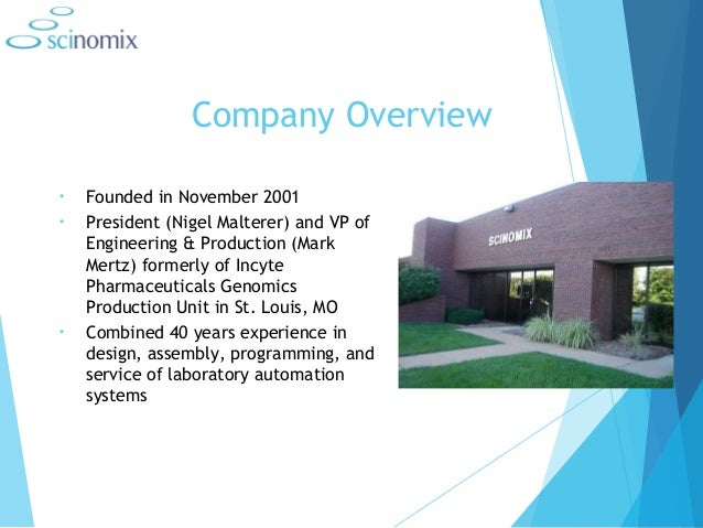 Laboratory Automation Systems- Scinomix