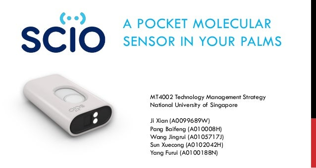 Technology Management Image: Molecular Sensor From SCIO