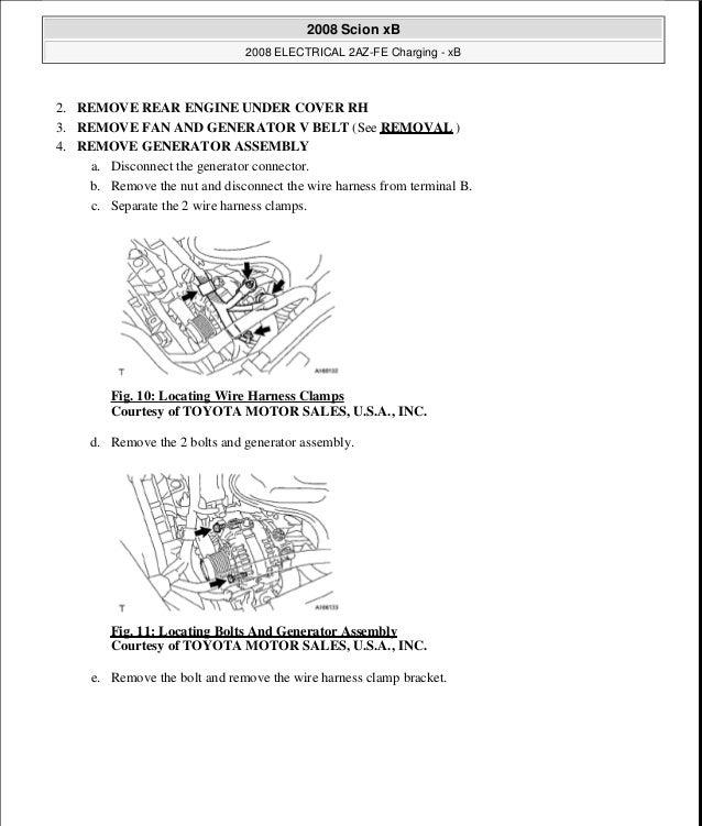 2005 Scion Xb Engine Diagram - Wiring Diagrams Schematics