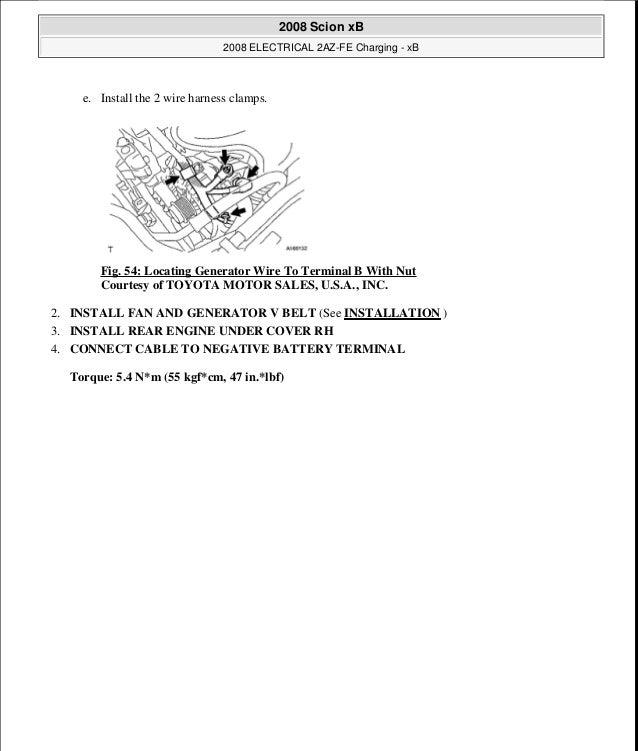 scion xb 2008 service repair manual rh slideshare net