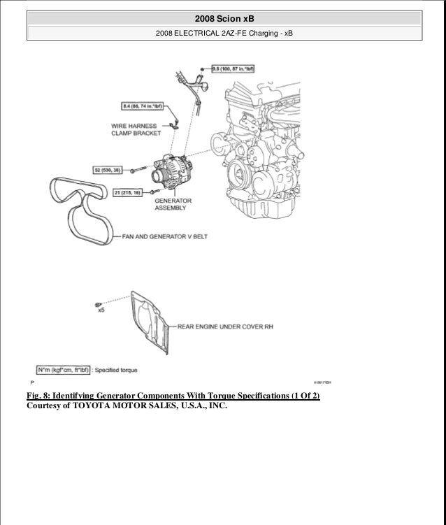 32 2008 Scion Xb Parts Diagram