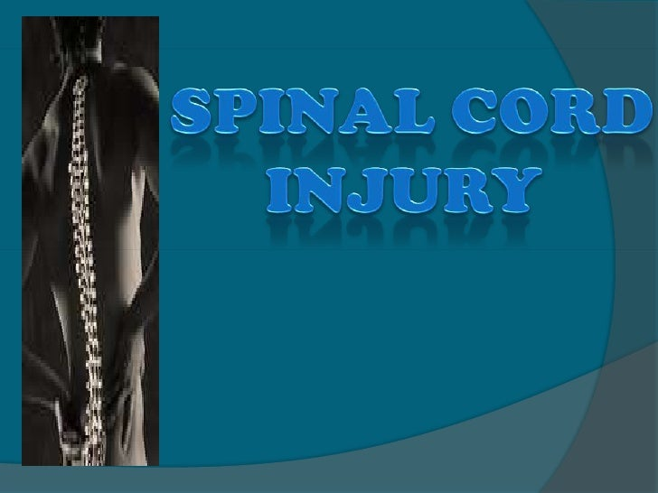 Spinal Cord<br />         injury<br />