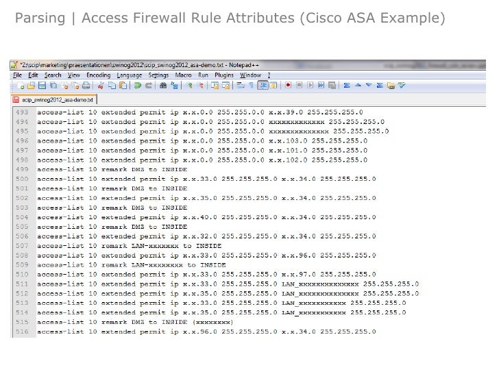 Firewall Rule Review And Modelling