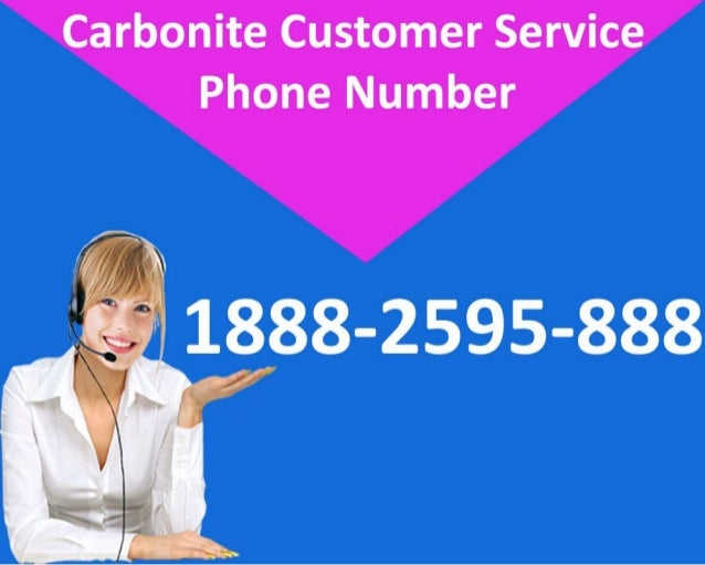 Carbonite Technical Support Phone Number