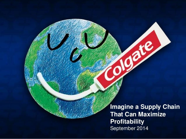 Imagine a Supply Chain That Can Maximize Profitability