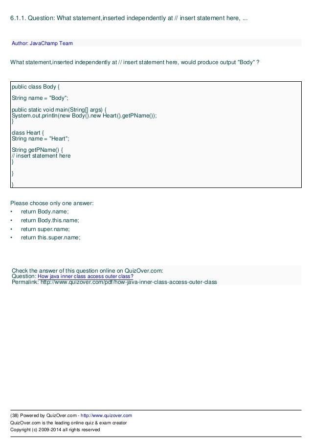 SCJP 16 Pdf eBook Exam Questions