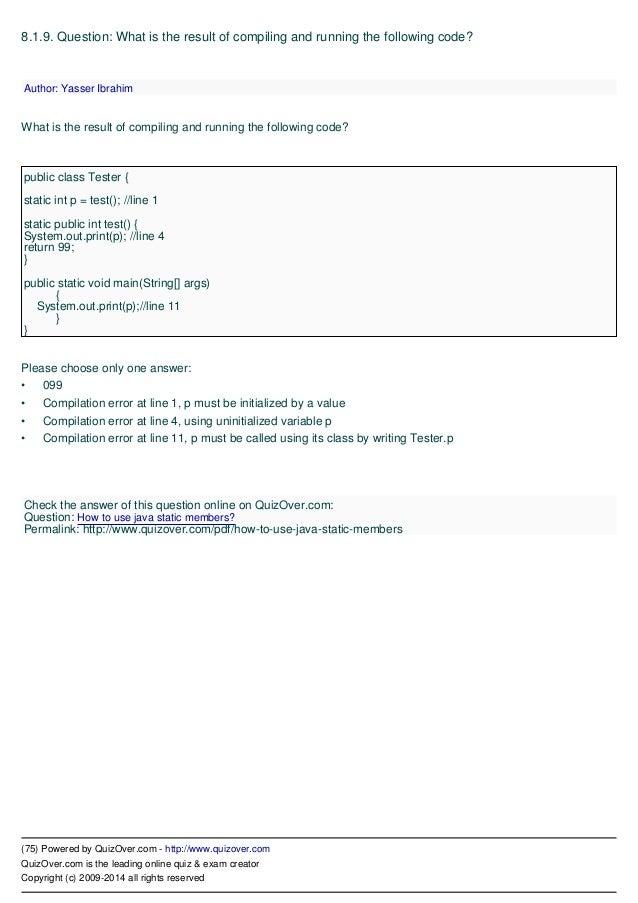 Scjp preparation: certification champion scjp questions,ocpjp.