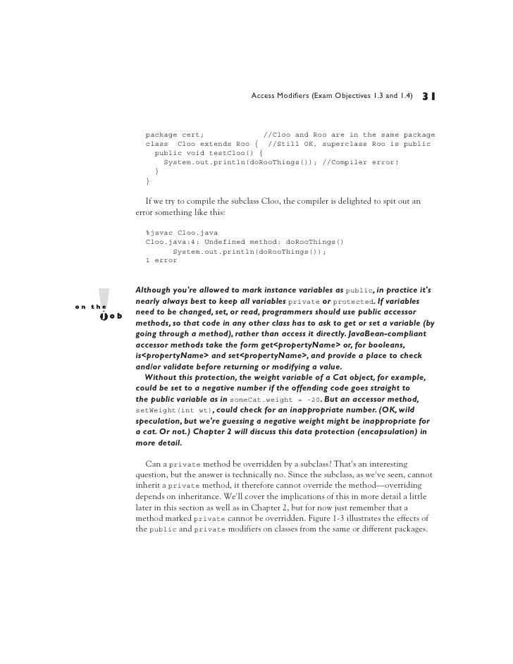 Scjp Sun Certified Programmer For Java 6 Exam 310 065
