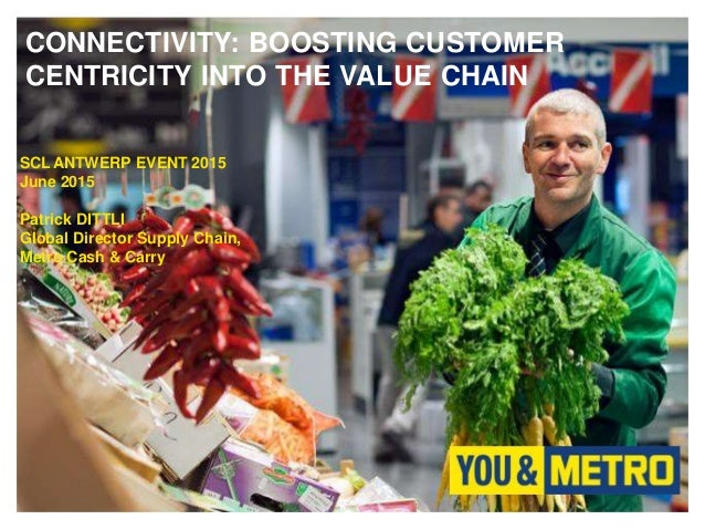 CONNECTIVITY: BOOSTING CUSTOMER CENTRICITY INTO THE VALUE CHAIN SCL ANTWERP EVENT 2015 June 2015 Patrick DITTLI Global Dir...