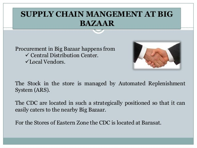 Big bazaar supply chain