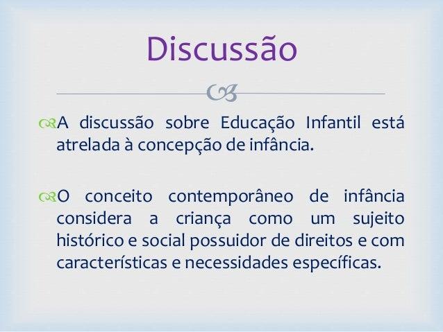 O que diz a ldb sobre educação infantil