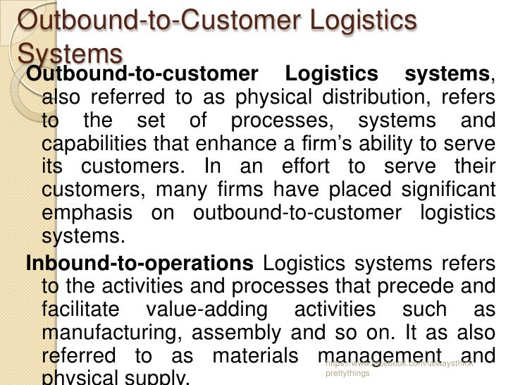 customer service in supply chain management pdf