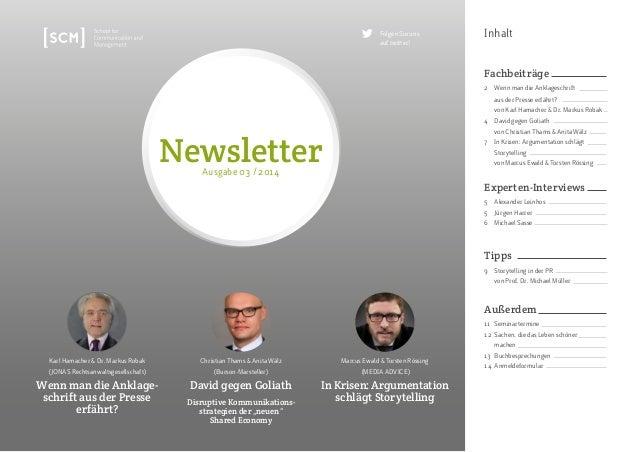 Inhalt  Newsletter  Karl Hamacher & Dr. Markus Robak  (JONAS Rechtsanwaltsgesellschaft)  Wenn man die Anklage-schrift  aus...