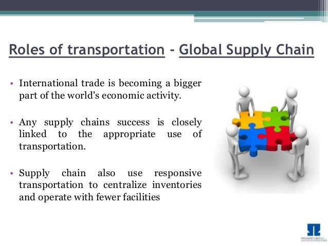 Supply Chain Management - Transportation - MBA Project
