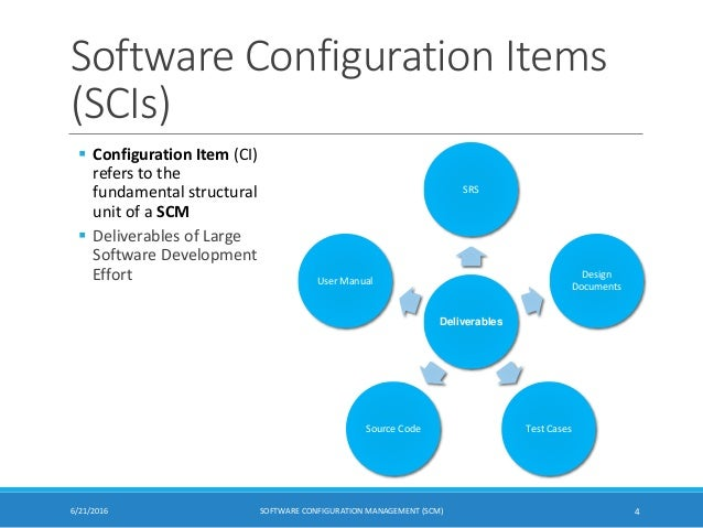 Software configuration management scm software configuration ccuart