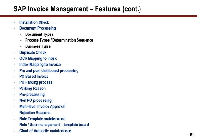 Generate Cost Savings From Supplier Invoices - Cost of processing an invoice