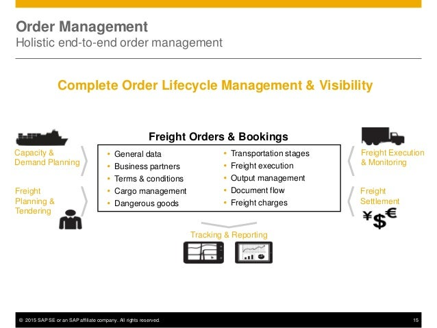 © 2015 SAP SE or an SAP affiliate company. All rights reserved. 15  General data  Business partners  Terms & conditions...