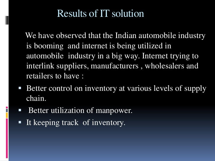 role of it in supply chain Closed-loop supply-chain channels are distribution systems that include activities  supporting both the forward flow of goods from the manufacturer to the.
