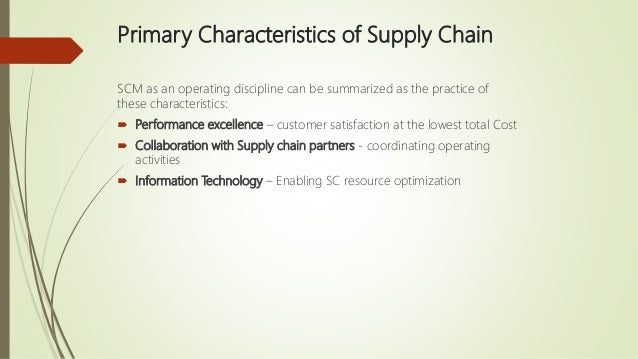 matching product and supply chain characteristics Use of rm will have particular impact on supply chain management paradigms  such as lean and agile and has  business practices and the properties of  demand for its products  the current mis-match that exists with an efficient  supply.